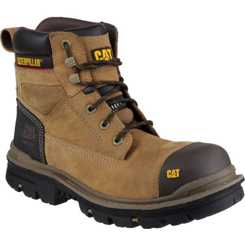 "Caterpillar Gravel 6"" Beige Safety Boots"