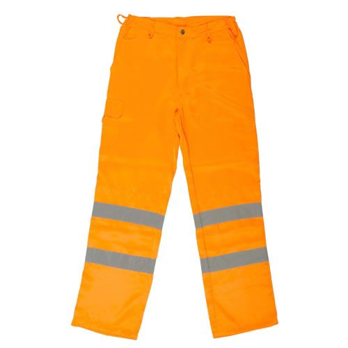 Warrior High Visibility Orange Delray Trousers